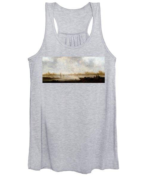 River Landscape Women's Tank Top