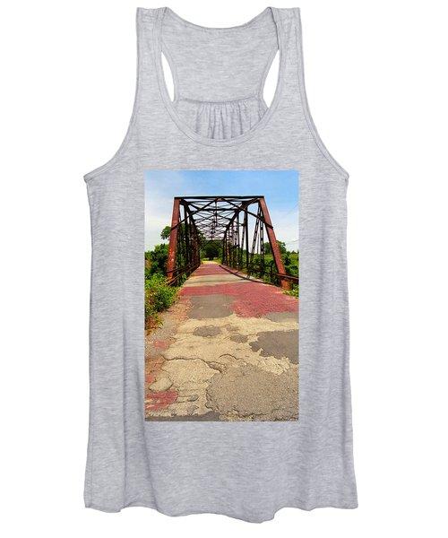 Route 66 - One Lane Bridge Women's Tank Top