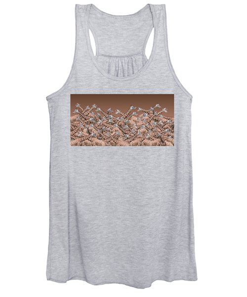 Sea Of Giraffes Women's Tank Top