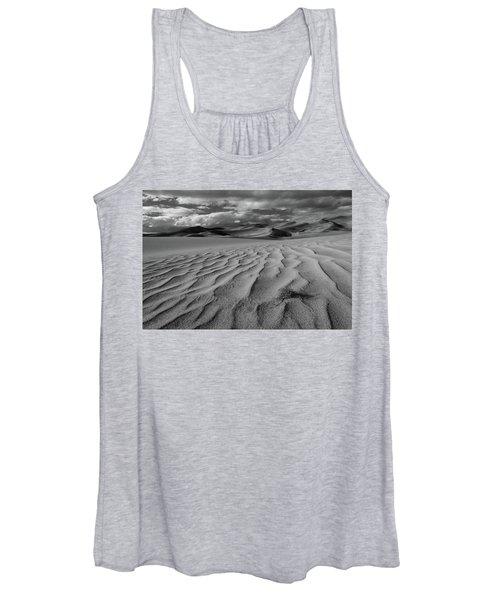 Storm Over Sand Dunes Women's Tank Top
