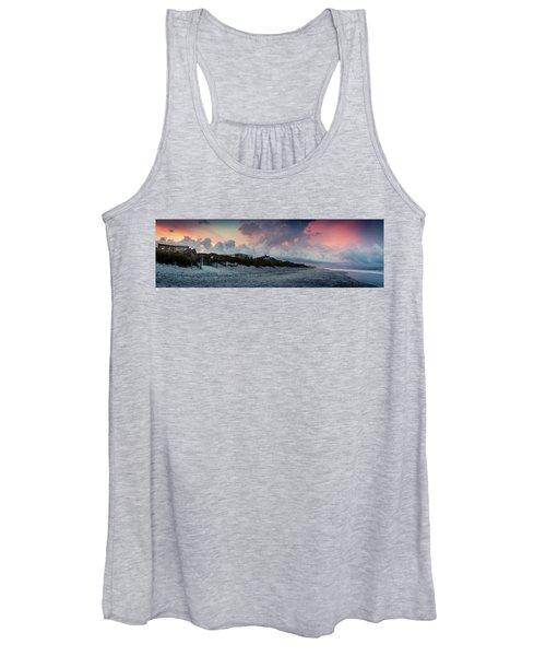 Sunset Emerald Isle Crystal Coast Women's Tank Top