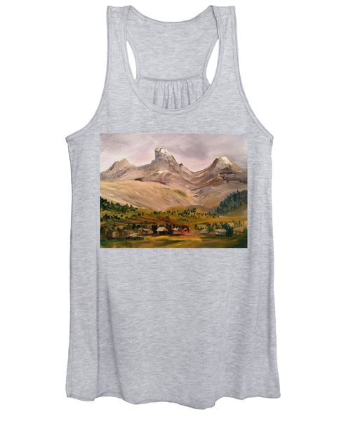 Tetons From The West Women's Tank Top