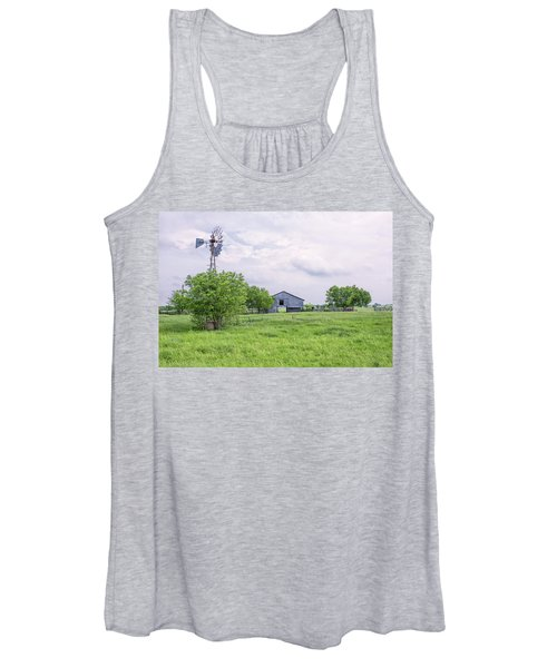 Texas Windmill Women's Tank Top