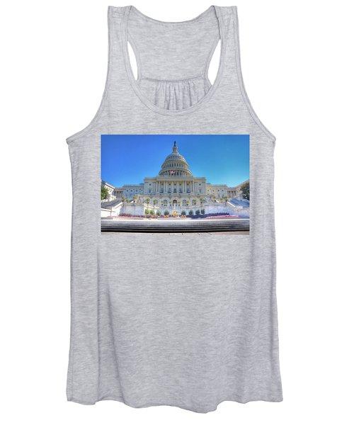 The Us Capitol Building - Washington D.c. Women's Tank Top