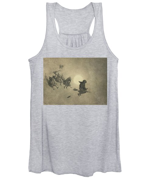 The Witches' Ride Women's Tank Top