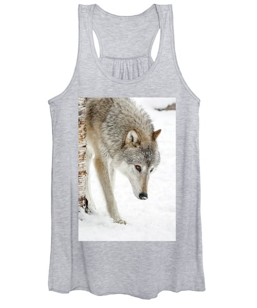 Timber Wolf Women's Tank Top