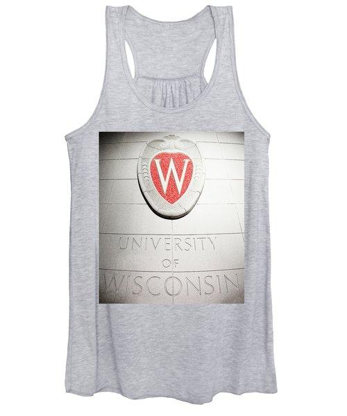 Uw Crest Women's Tank Top
