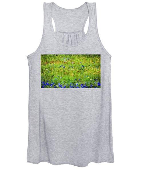 Wildflowers In Bloom Women's Tank Top