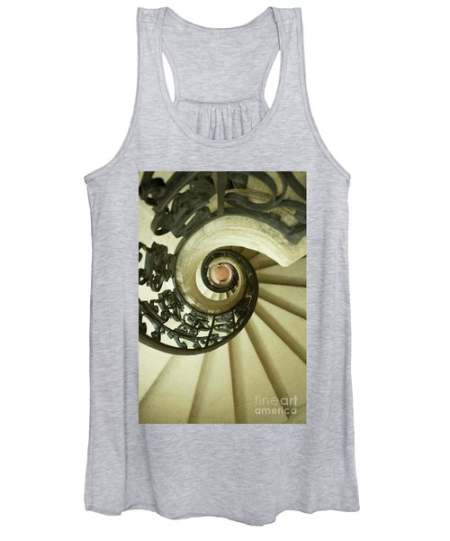 Winding Staircase. France. Europe. Women's Tank Top