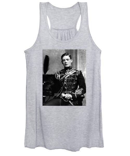 Winston Churchill  Women's Tank Top