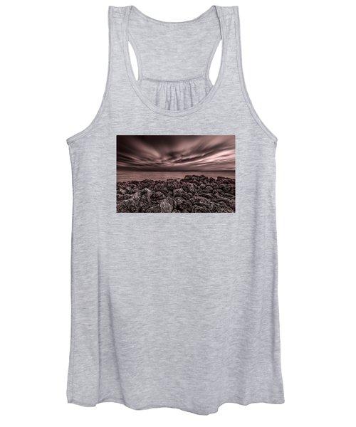 Sunst Over The Ocean Women's Tank Top