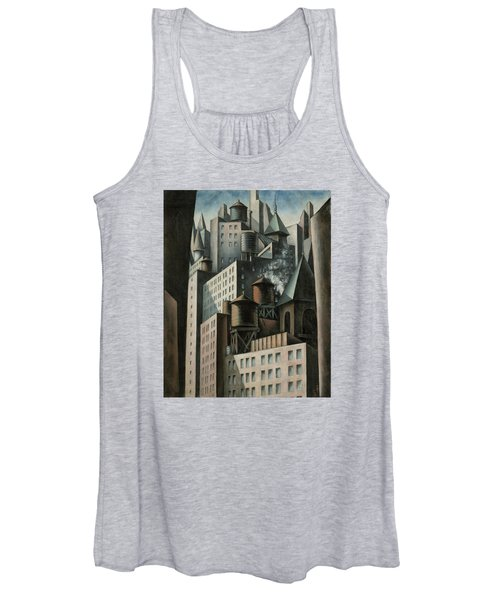 14th Street New York City Women's Tank Top