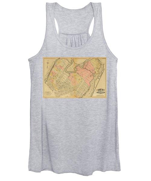1879 Inwood Map  Women's Tank Top
