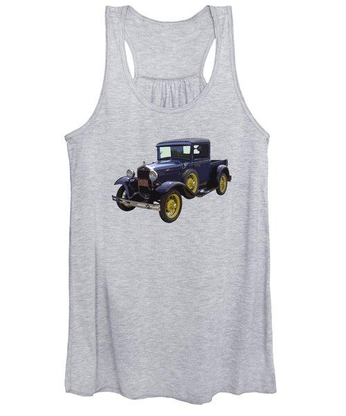 1930 - Model A Ford - Pickup Truck Women's Tank Top