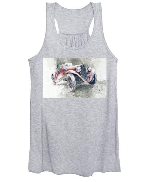 1934 Walter Standart S Jindrih Knapp 1000 Mil Ceskoslovenskych Winner  Women's Tank Top