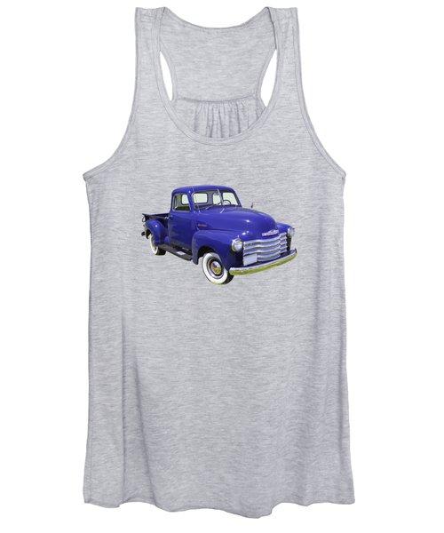 1947 Chevrolet Thriftmaster Antique Pickup Women's Tank Top