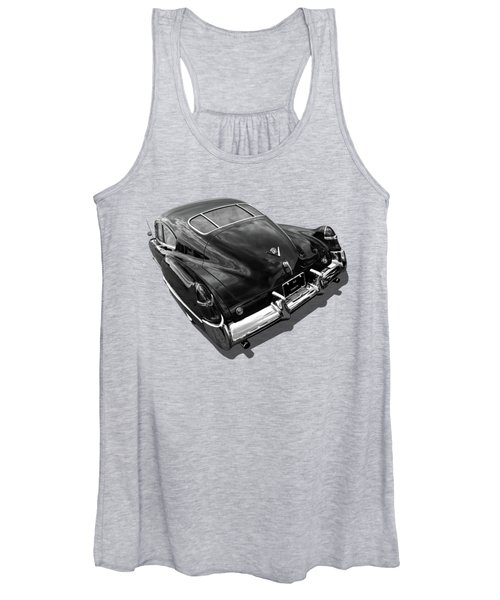 1949 Cadillac Sedanette In Mono Women's Tank Top
