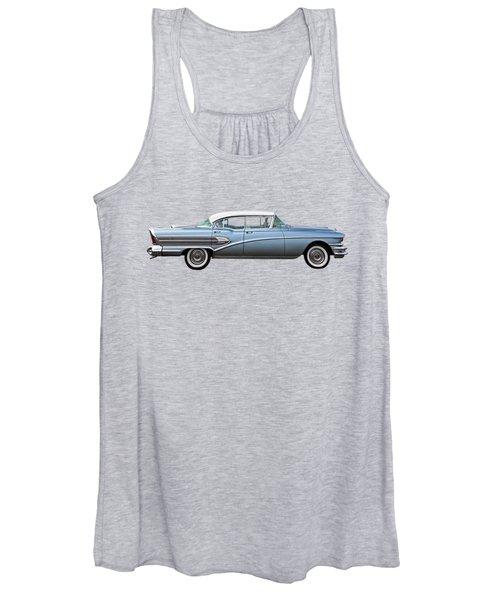 1958 Buick Roadmaster 75 Women's Tank Top