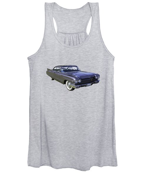 1960 Cadillac - Classic Luxury Car Women's Tank Top