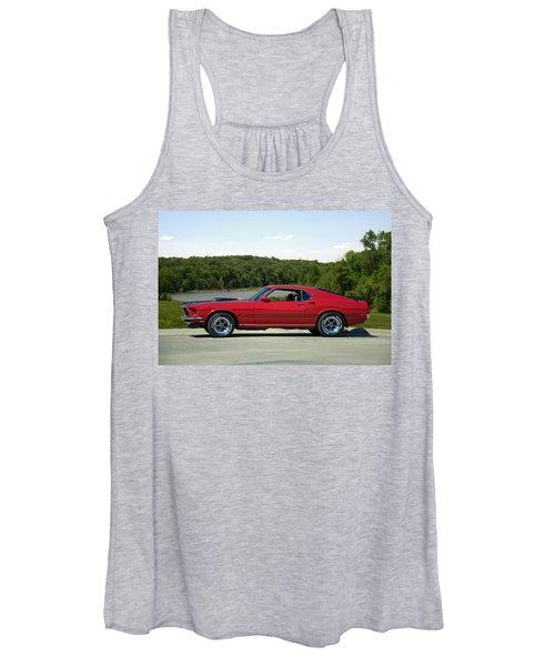 1969 Mustang Mach 1 Women's Tank Top