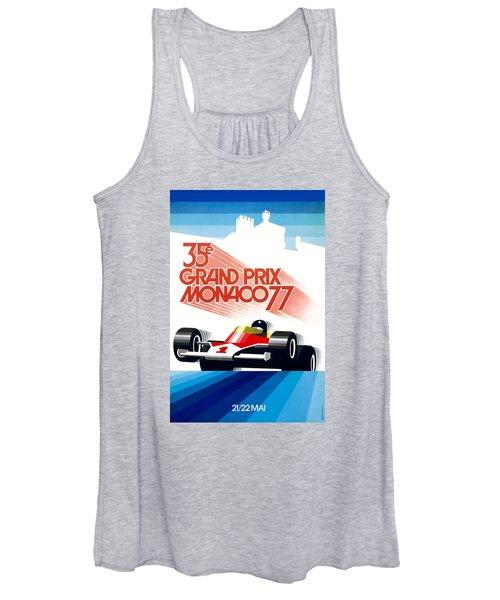 Monaco Grand Prix Women's Tank Tops | Fine Art America