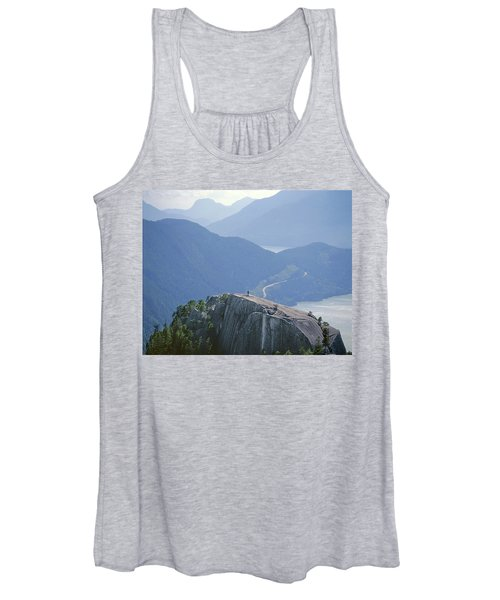 1m2918 South Summit Stawamus Chief From Second Summit Women's Tank Top
