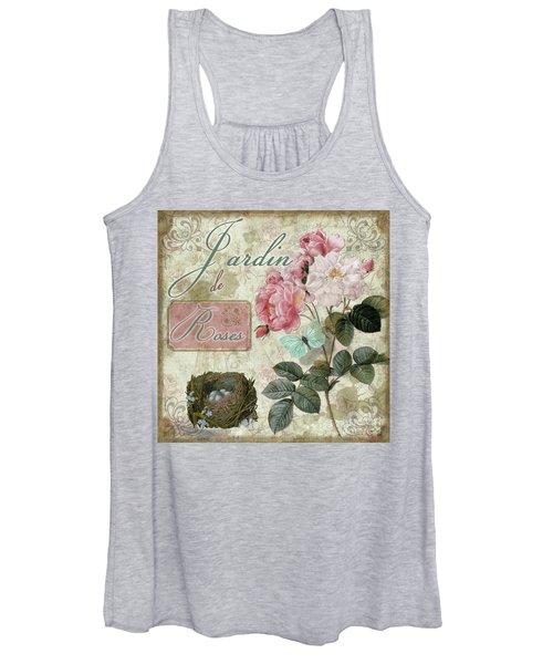 Jardin De Roses Women's Tank Top