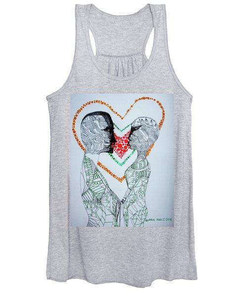 Love Is A Heart Women's Tank Top
