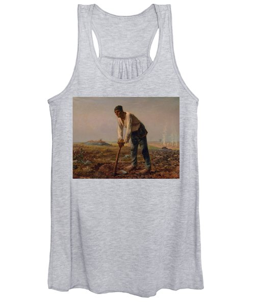 Man With A Hoe Women's Tank Top