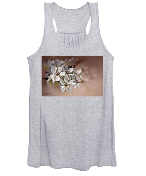 Oriental Pear Blossom Women's Tank Top