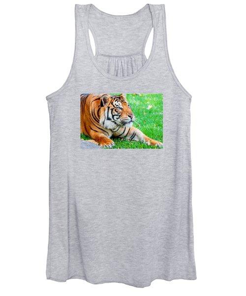 Pre-pounce Tiger Women's Tank Top