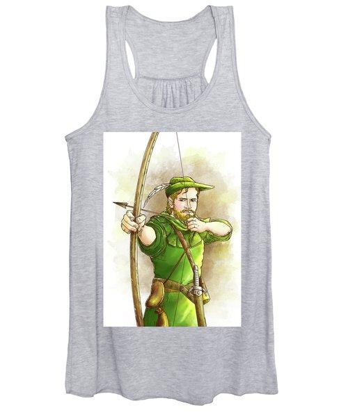 Robin Hood The Legend Women's Tank Top