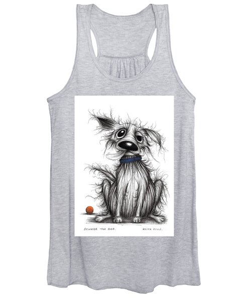 Stinker The Dog Women's Tank Top