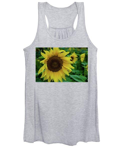 Sunflower Fields Women's Tank Top