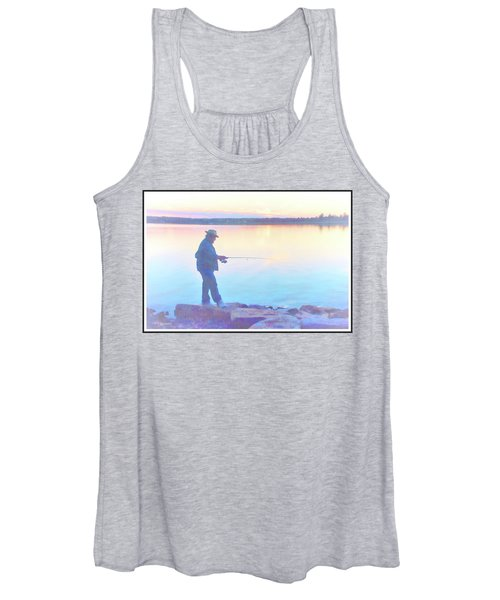 Sunrise Fisherman Women's Tank Top