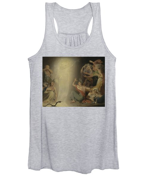 The Ghost Of Clytemnestra Awakening The Furies Women's Tank Top