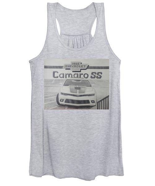 2014 Chevrolet Camaro Ss Women's Tank Top
