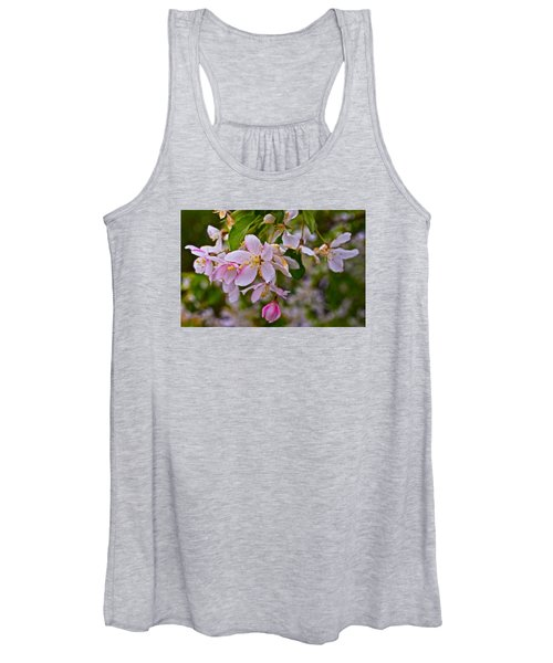 2015 Spring At The Gardens White Crabapple Blossoms 1 Women's Tank Top