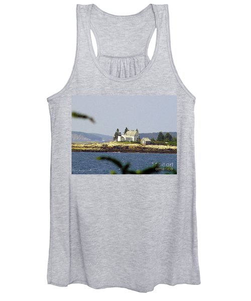 2015 Winter Harbor Light Women's Tank Top
