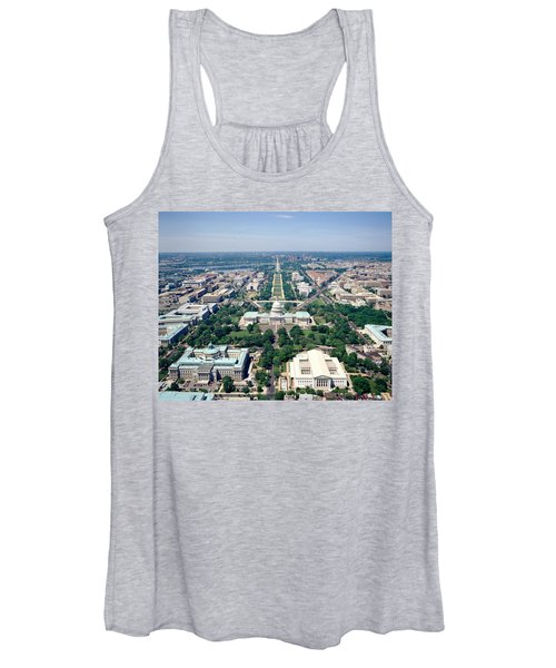 Aerial View Of Buildings In A City Women's Tank Top