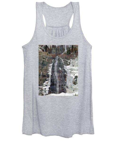 212m40 Bridal Veil Falls Utah Women's Tank Top