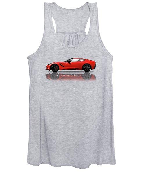 Chevrolet Corvette Stingray Women's Tank Top