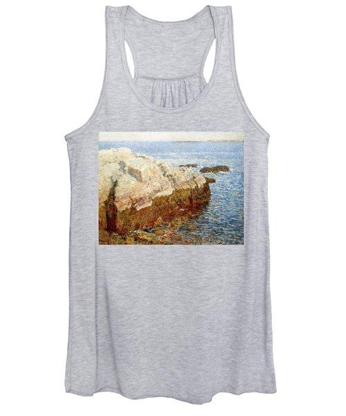 Cliff Rock - Appledore Women's Tank Top