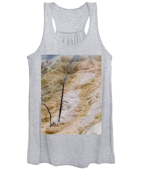 Mammoth Hot Spring Terraces Women's Tank Top