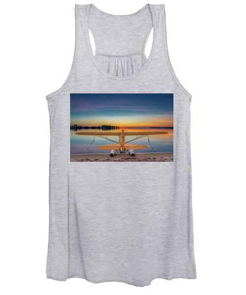 Splash-in Sunrise  Women's Tank Top