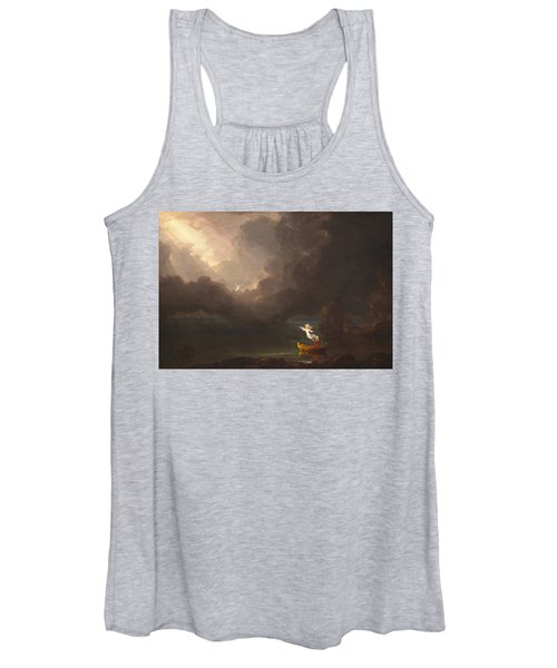 The Voyage Of Life Old Age Women's Tank Top