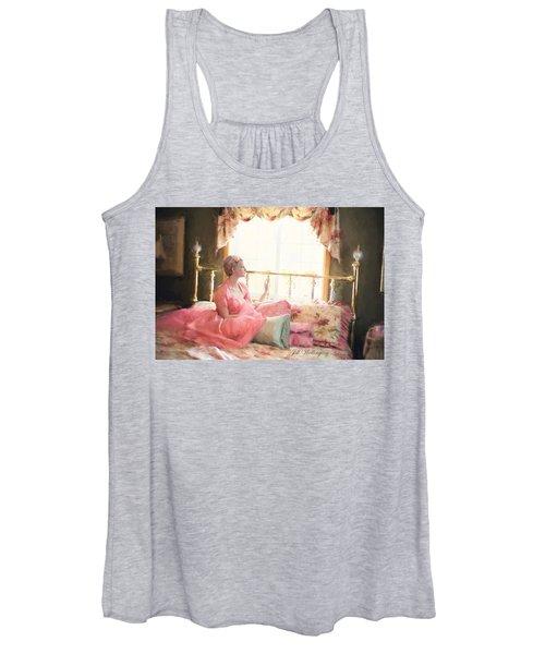 Vintage Val Bedroom Dreams Women's Tank Top