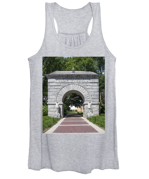 Camp Randall Memorial Arch - Madison Women's Tank Top