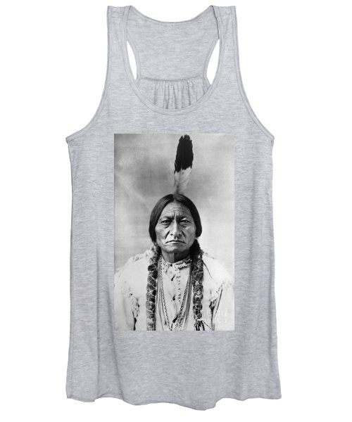 Sitting Bull 1834-1890. To License For Professional Use Visit Granger.com Women's Tank Top