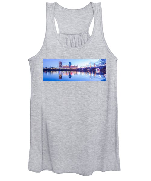 Springfield Massachusetts City Skyline Early Morning Women's Tank Top